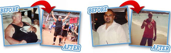 Befor and After HCG